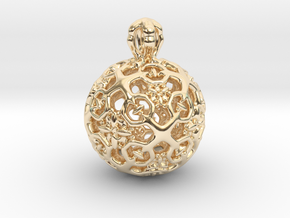 PA Ball D11Se64m2-wax in 14K Yellow Gold