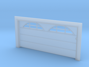 Double Car Residential - Arch Windows in Frosted Ultra Detail