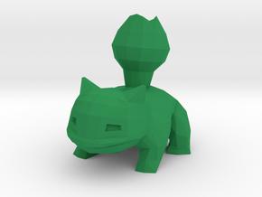 Ivysaur in Green Processed Versatile Plastic