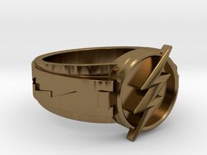 V3 Regular Size 10.5 20.2mm in Polished Bronze