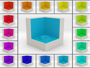 LuminOrb 1.8 - Cube Stand in Full Color Sandstone
