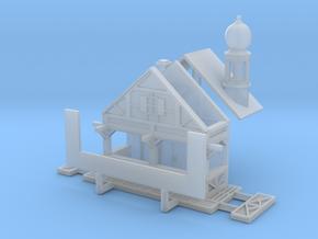 Zwiebelturmbude - 1:160 (N scale) in Smooth Fine Detail Plastic