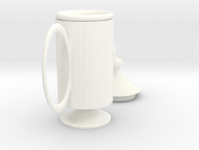 rocket mug in White Strong & Flexible Polished