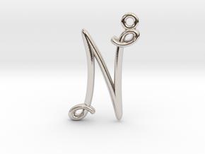 N Initial Charm in Platinum