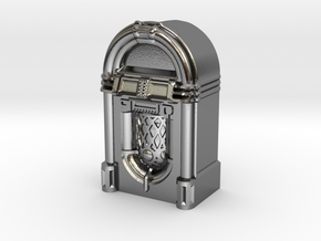 28mm/32mm scale JukeBox  in Polished Silver