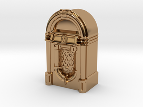 28mm/32mm scale JukeBox  in Polished Brass