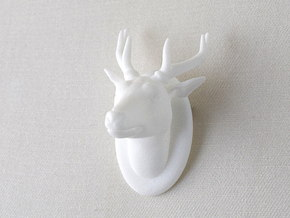 Deer in White Strong & Flexible Polished