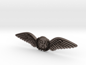 RAA (Recreational Aviation Australia) Wings-Brevet in Stainless Steel