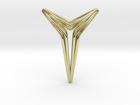 YOUNIVERSAL Star Pendant in 18k Gold Plated Brass