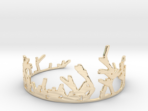 Growing Bracelet v.2 in 14K Yellow Gold