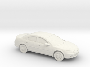 1/87 2000-03 Chrysler Sebring Sedan in White Strong & Flexible