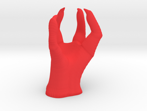 Dragon Claw in Red Processed Versatile Plastic