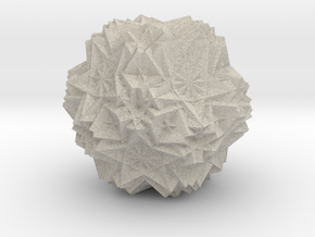 Cube 30 Compound 3 in Natural Sandstone