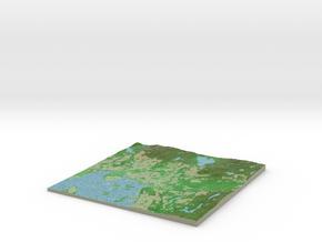 Terrafab generated model Thu Oct 29 2015 23:03:35  in Full Color Sandstone