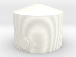 N Water Tank ø30 H20 in White Strong & Flexible Polished