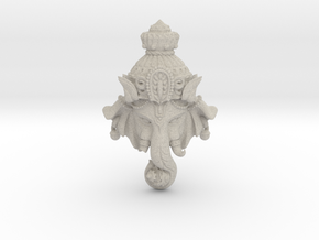 "Ganesha -""Wishing Elephant"" The god of wealth in Natural Sandstone"