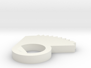 Right Selector Gear for Airsoft Gearbox (AK series in White Strong & Flexible
