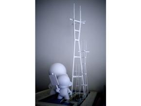"Sutro (512mm / 20.2"" Tall) in White Natural Versatile Plastic"