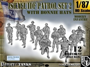 1-87 IDF BONNIE PATROL SET 2 in Frosted Ultra Detail