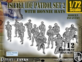 1-72 IDF BONNIE PATROL SET 2 in Frosted Ultra Detail