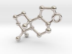 Ambrox in Rhodium Plated Brass