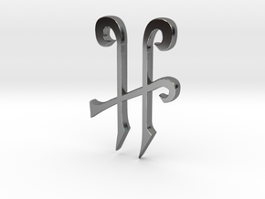 H Magic in Fine Detail Polished Silver