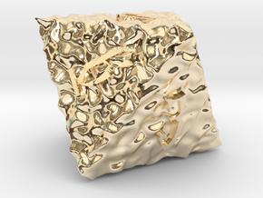 ELDRITCH ROUGH d8 in 14K Gold