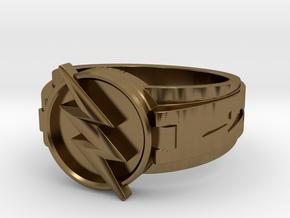 V3 Reverse Flash Size 13.25, 22.4mm in Polished Bronze