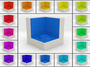 LuminOrb 2.8 -  Cube Stand in Full Color Sandstone
