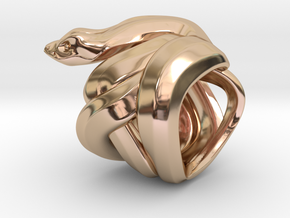 Snake No.1 in 14k Rose Gold