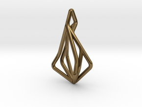 N-Line No.1 Pendant. Natural Chic in Polished Bronze