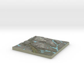 Terrafab generated model Sat Nov 14 2015 02:17:08  in Full Color Sandstone