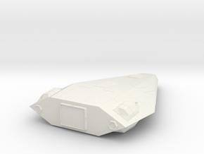 Skipjack-class Utility Shuttle in White Natural Versatile Plastic