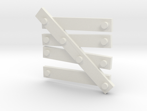 window Barricade type 1 in White Natural Versatile Plastic