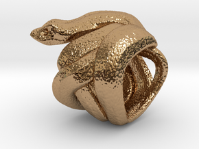 Snake No.2 in Polished Brass