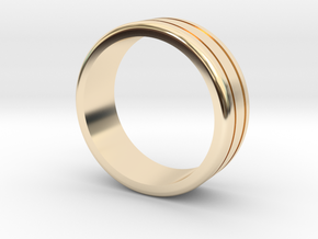 Classic wedding ring in 14K Gold