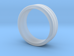 Classic wedding ring in Smooth Fine Detail Plastic