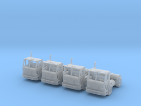 Peterbilt 320 Single Axle Z Scale in Smooth Fine Detail Plastic