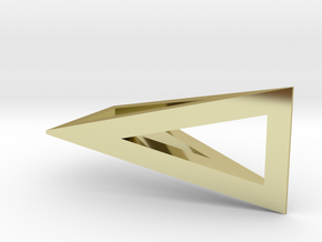 T-Prism Pendant in 18K Gold Plated