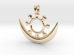Symbol OSRAM NE NSOROMMA Jewelry Necklace in 14K Yellow Gold