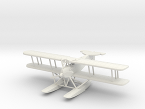 Hansa-Brandenburg W.19, 1:144th Scale in White Natural Versatile Plastic