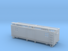 HOn3 MOW Boxcar B in Frosted Ultra Detail
