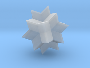 Wolfram|Alpha Spikey in Smooth Fine Detail Plastic: Small