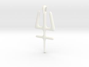 ESSENSE Symbol Jewelry Pendant in White Processed Versatile Plastic