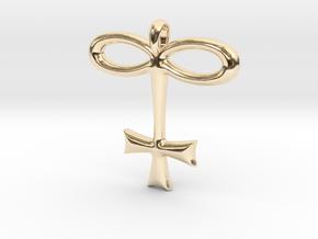 GLASS Alchemy Jewelry Symbol in 14K Yellow Gold