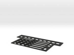 F22 HUD Control Plate in Black Natural Versatile Plastic