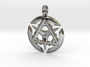 TRINITY ILLUSION in Fine Detail Polished Silver