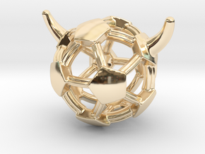 iFTBL Added V / The One in 14k Gold Plated Brass