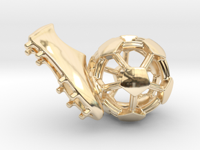 iFTBL Precision / The One ' in 14k Gold Plated Brass