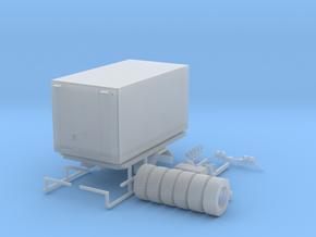 Zetros Werkstattwagen 1 in Smooth Fine Detail Plastic
